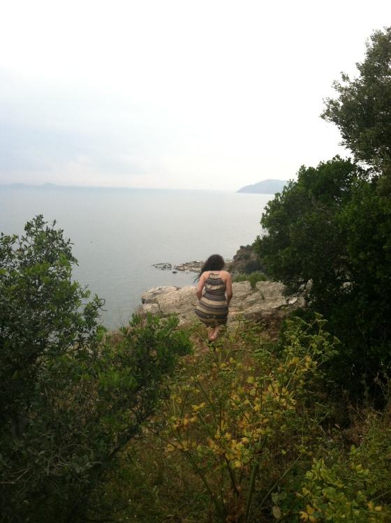Sarah escaping into coast.